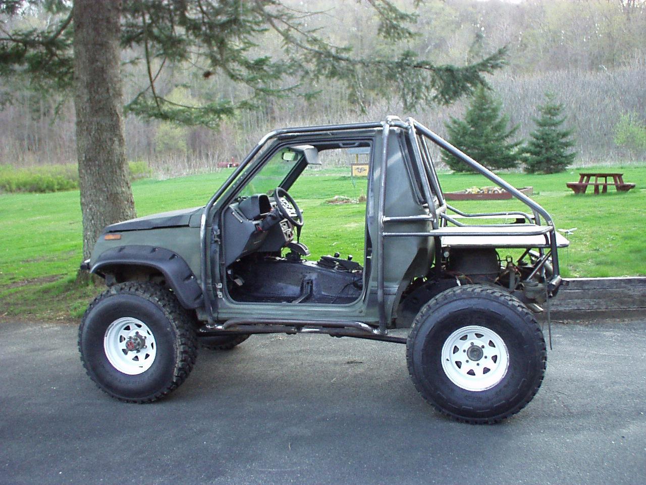 Suzuki Sidekick Roll Cage Kit